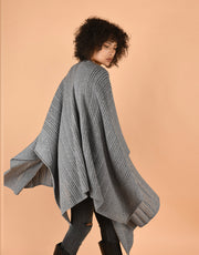 Hippie Cape in Silver