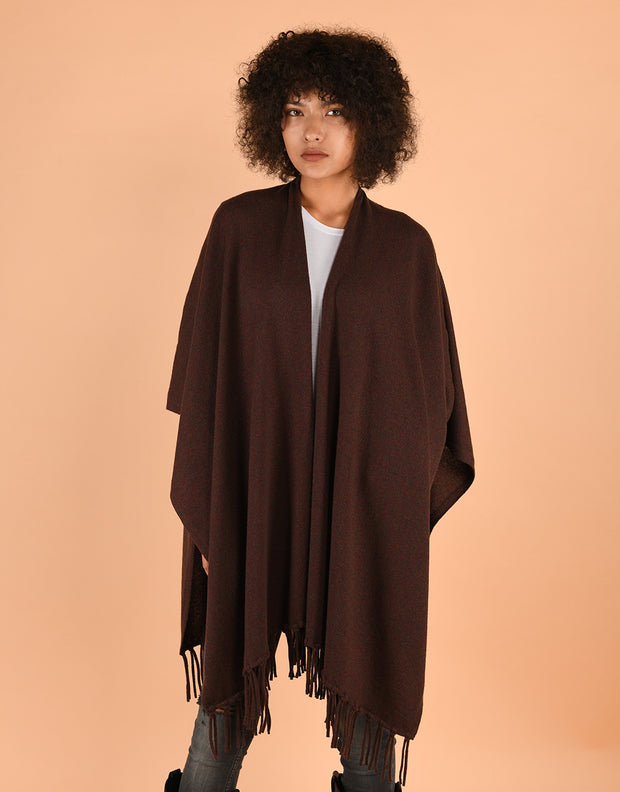Tassel Cape in Fruitcake