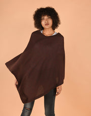 Ultra Soft Poncho in Fruitcake