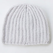 Cashmere Winter Warmer Beanie in Ice