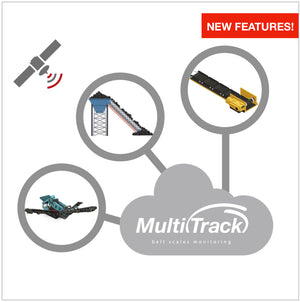 Multitrack Belt Scales Monitoring are leading the way in monitoring aggregates production and performance, both static and mobile. By consolidating real time data from all your belt scales into the cloud, regardless of location or brand of scales, our online application extracts Key Production and Performance insights and presents the analysis in automated charts, tables and URL's, available on your phone or laptop and by email.
