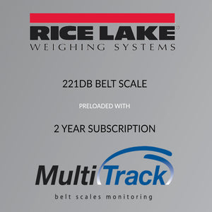 Rice Lake 221D Belt Scale & Multitrack Monitoring