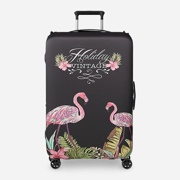 Valise flamant rose