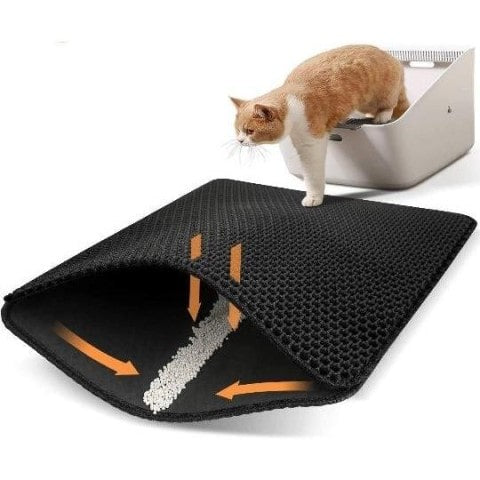 The Ultimate Waterproof Cat Litter Mat-My Purry Friends