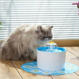 Flower Waterfall Fountain - Food - My Purry Friends - Online shop for everything your cat wants.