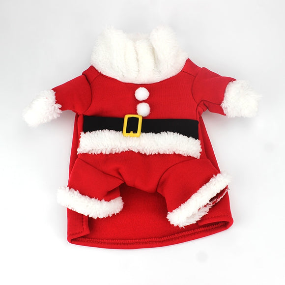 Santa Costume - Costumes - My Purry Friends - Online shop for everything your cat wants.