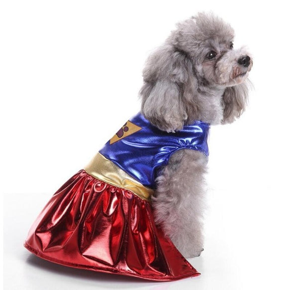 Super Hero Pet Costume - Costumes - My Purry Friends - Online shop for everything your cat wants.