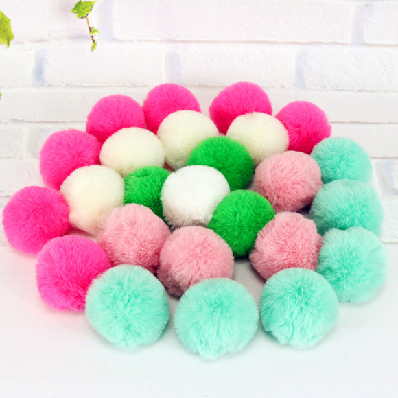 Soft Colorful Ball Toys - Toys - My Purry Friends - Online shop for everything your cat wants.
