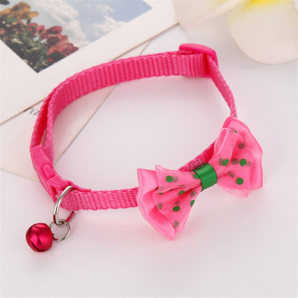 Bowtie Cat Collars With Bells - Collars - My Purry Friends - Online shop for everything your cat wants.