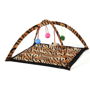 Cat Play Tent - Bed - My Purry Friends - Online shop for everything your cat wants.