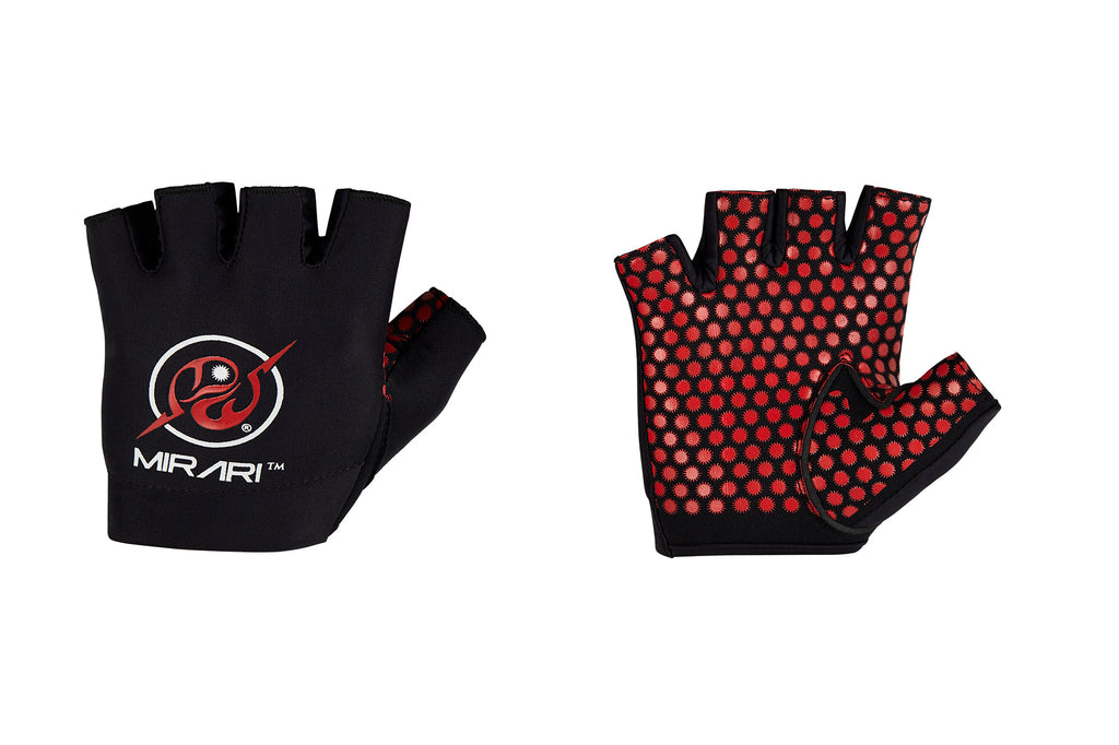 Fitness Gloves; Gel Pads; Black