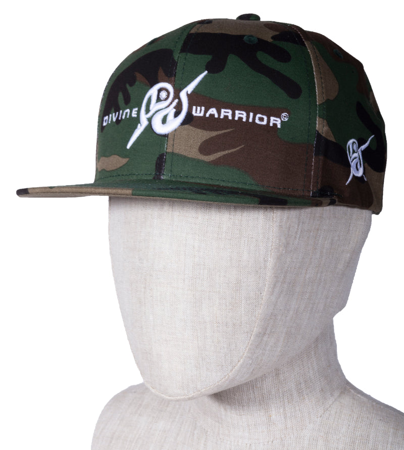 MIRARI® // Divine Warrior® Collection, Green Camo Hat
