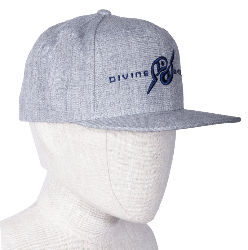 MIRARI® // Divine Warrior® Collection, Heather Grey Navy Hat