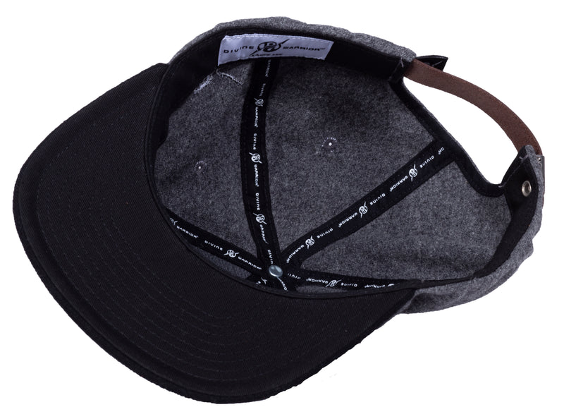 MIRARI® // Divine Warrior® Collection, Wool Black Hat