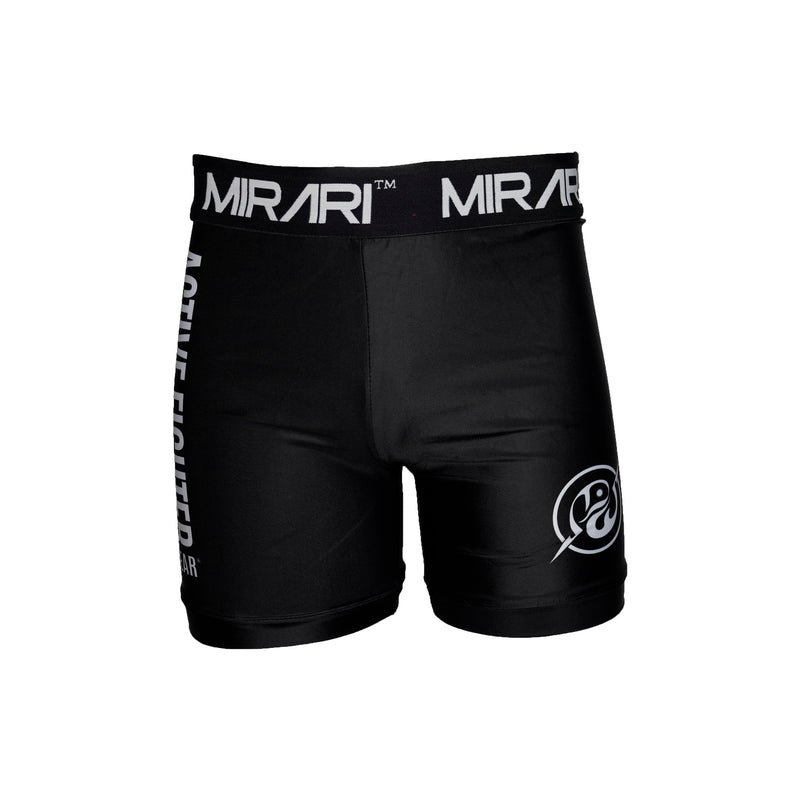 MIRARI® Combat Sports Men's Vale Tudo Compression Shorts, Black