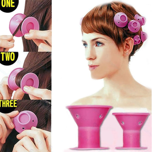 New Fancy Hairstyle Soft Hair Roller Curler for Women - THE FASHION POP