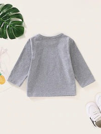 Baby Boy Letter Tee
