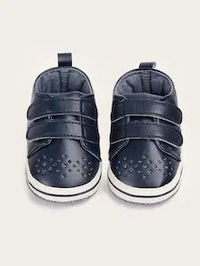 Baby Boys Double Hook-And-Loop Straps Sneakers