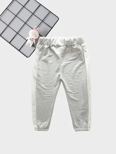 Toddler Boys Contrast Side Pants