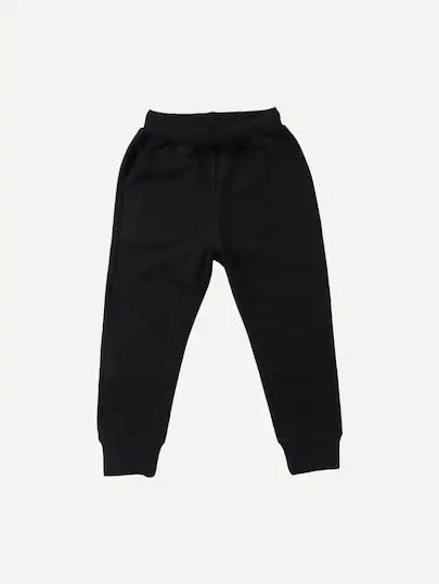 Toddler Boys Plain Drawstring Pants