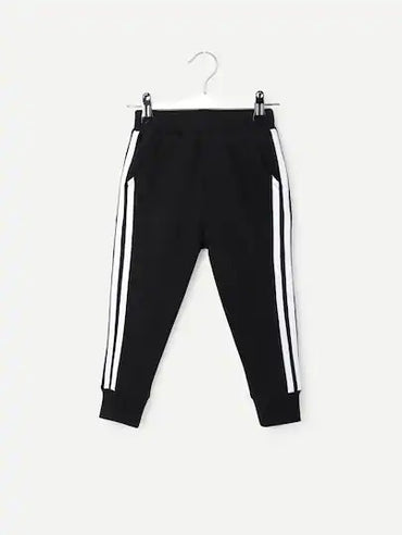 Toddler Boys Striped Side Pants