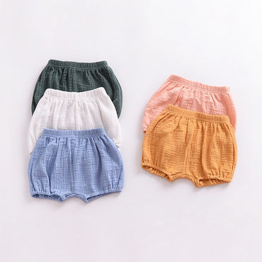 Infant Boy Girl Cotton Shorts Bloomers
