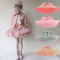 Hot Selling Girl Fluffy Princess Tulle Party Dance Skirts
