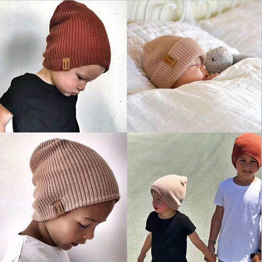 Girl Boy Winter Hat Baby Soft Warm Beanie Hat