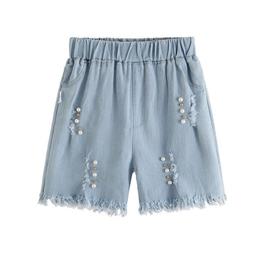 Girl Denim Shorts Fashion Short Princess Jeans