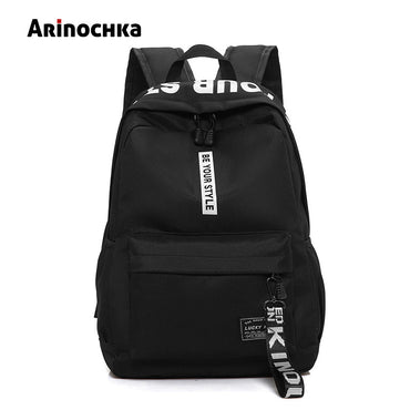 Backpack Female Nylon Travel Schoolbag