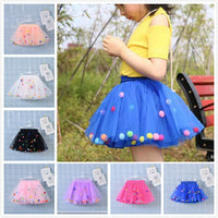Girl Multilayer Colorful Tulle Tutu Princess Skirt