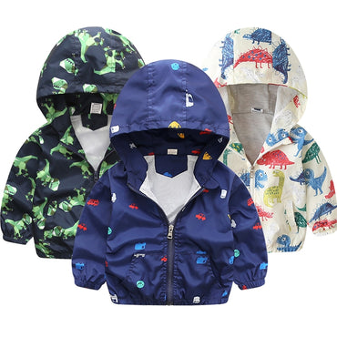 Children Jackets Autumn Spring Kids Outerwear Coats