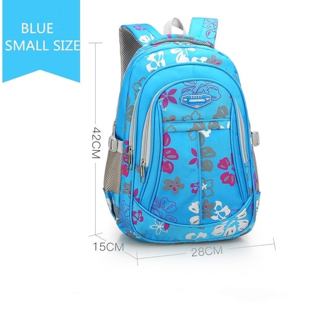 Waterproof durable and Breathable school backpack