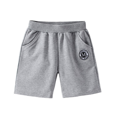 Boys  Casual Bottom Pants Letter Print Sport Shorts