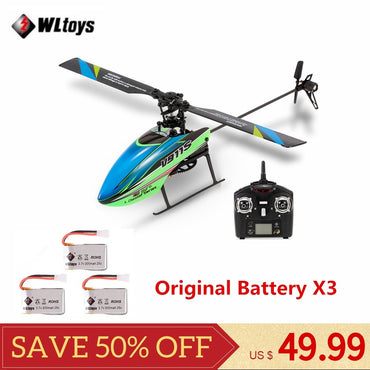 V911S 4CH 6G 6-Aixs Gyro Single Propelller Non-aileron RC Helicopter