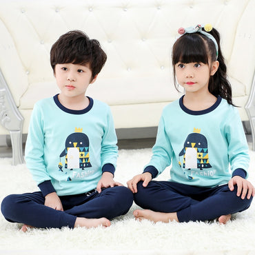 Children Pajamas Sets Totoro Unicorn Cotton Nightwear For Kids