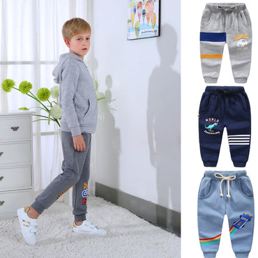 New Fashion Boys Sports Long Jogging Pants