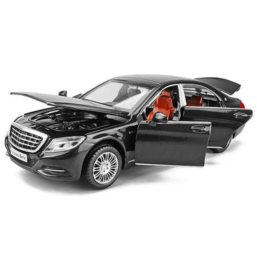Miniature 1/32 Maybach S600 Diecast Toy Vehicles Metal Cars
