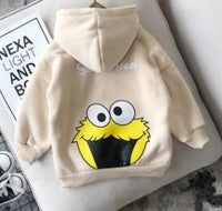 Girls Boys Long Sleeve Thicken Cotton Cartoon Cute Hoodies