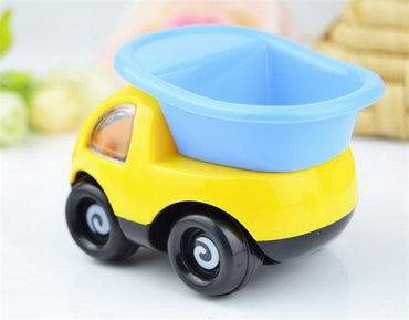4 Styles Creative Pull Back Cartoon Engineering Model Car Diecast Car Toys