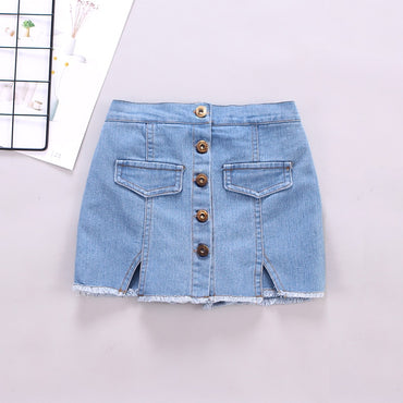 Fashion Girls Denim Short Skirt