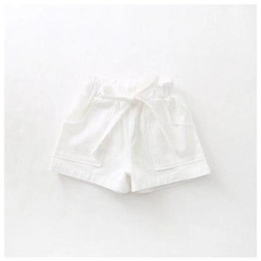 Candy Color Toddler Girls Shorts Elastic Waist Fashion Bowknot Girl Shorts