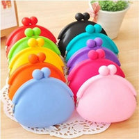 fashion women messenger bags silicone coin purse