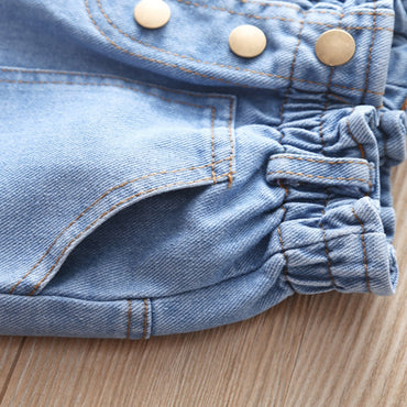 Top Quality Denim Jeans Short For Girls