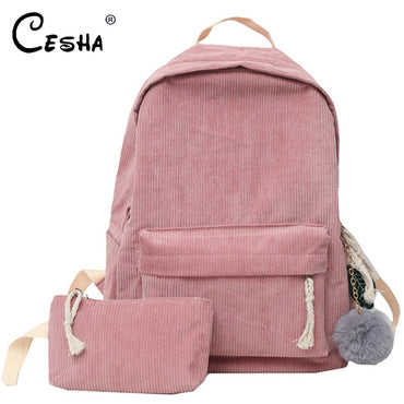 High Quality School Bag Pretty Style Backpacking Backpack Durable Book Bag