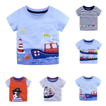 Children's Clothing Short Sleeves T-Shirts