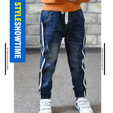 Hot Selling Boy Limited Loose Solid Casual Fashion Jeans