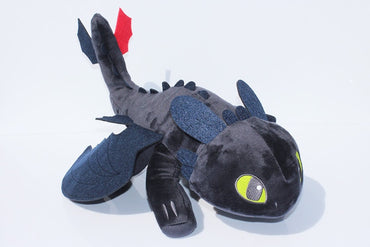 Hot to Train Your Dragon Night Plush Fury Toy Toothless