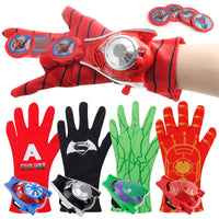 Superhero Spider-Man Cosplay Gloves Children's Toys Wrist