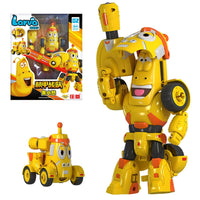 High Quality ABS Fun Larva Transformation Toys Action Figures Deformation Car M